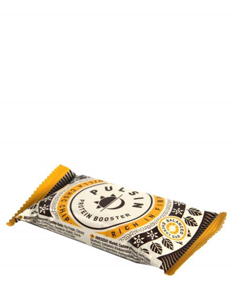 Pulsin Protein Booster Vanilla Choc Chip Riegel 50g