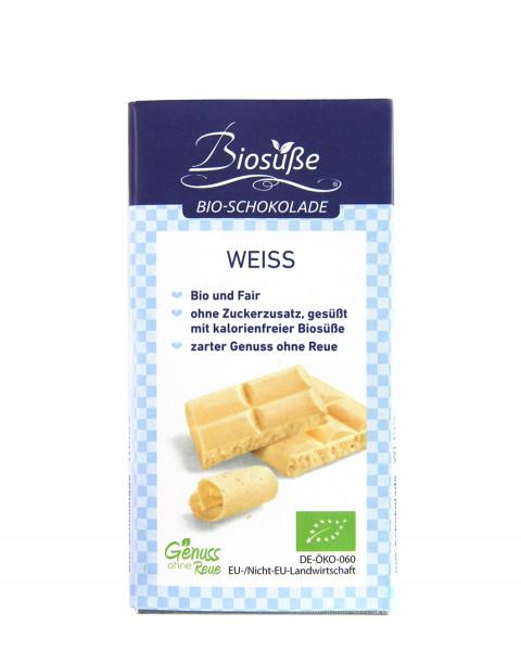 Biosüße Bio-Schokolade Weiß 40g