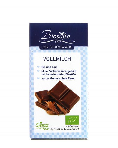 Biosüße Bio-Schokolade Vollmilch 40g