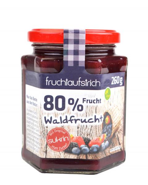 Sukrin Fruchtaufstrich Waldfrucht 260g