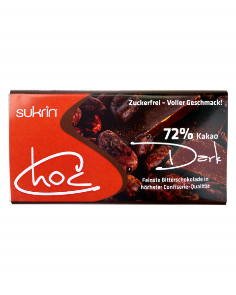 Sukrin Schokolade Dunkel 60g