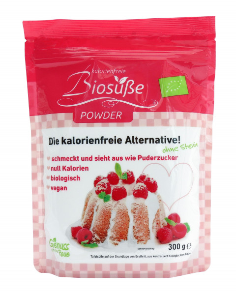 Biosüße Powder Bio-Erythrit Puder Bag 300g