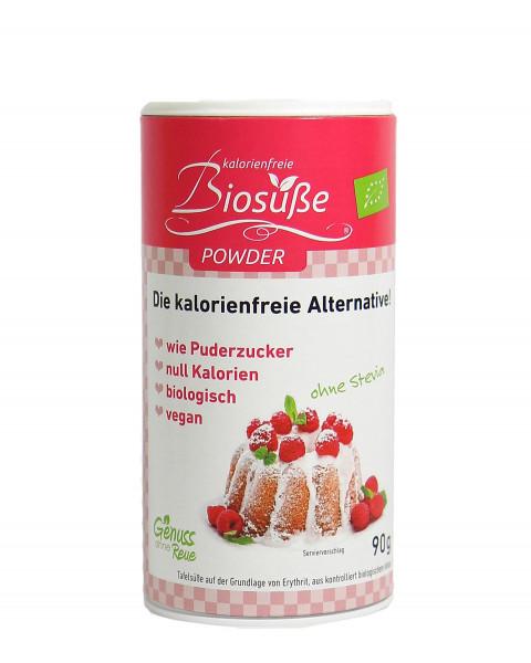 Biosüße Powder Bio-Erythrit Dose 90g