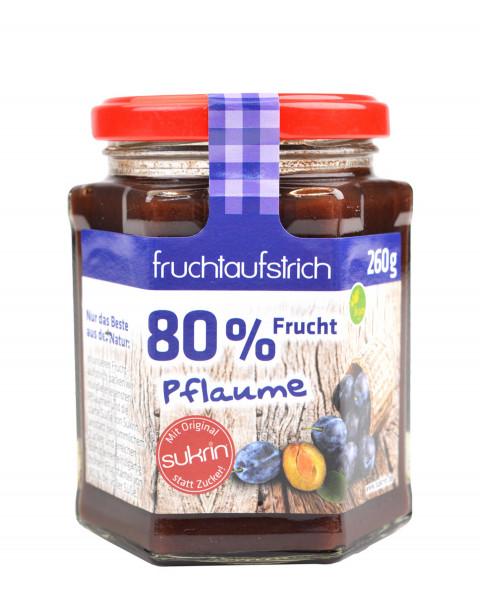 Sukrin Fruchtaufstrich Pflaume 260g
