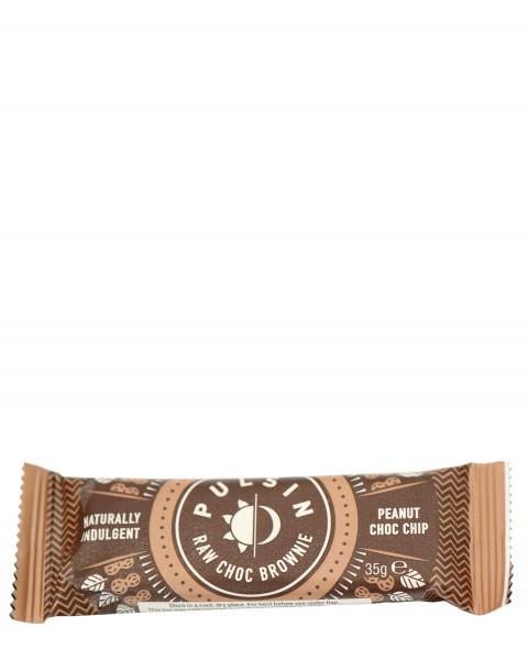 Pulsin Raw Choc Brownie Peanut Riegel 35g