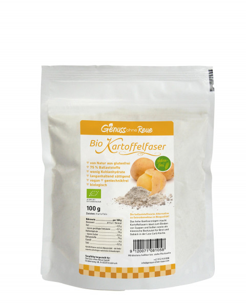 Genuss ohne Reue Bio-Kartoffelfasern Bag 100g