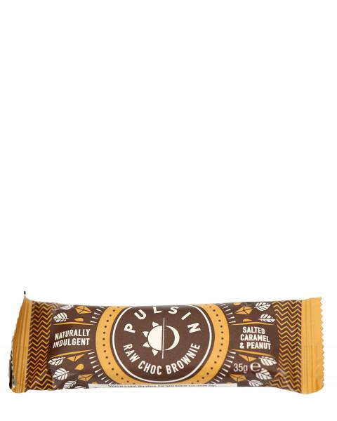 Pulsin Raw Choc Brownie Salted Caramel Riegel 35g