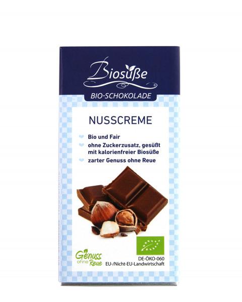 Biosüße Bio-Schokolade Nusscreme 40g