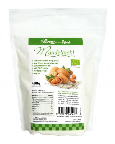 Genuss ohne Reue Bio-Mandelmehl Bag 400g